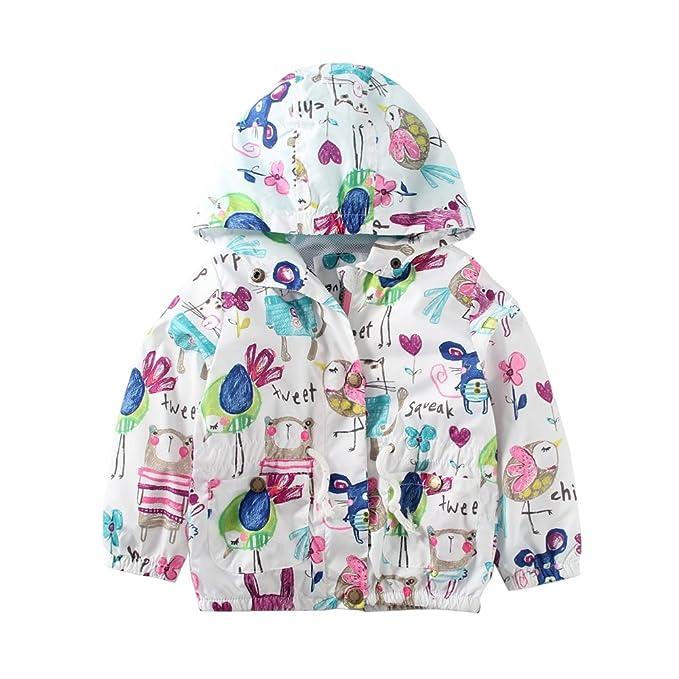 410fd50d84ed Amazon.com  Mud Kingdom Little Girls Jackets Cute with Hood Coats ...