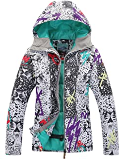 APTRO Womens Ski Jacket Waterproof Fashion Snowboard Coat Windproof Mountain Rain Jacket