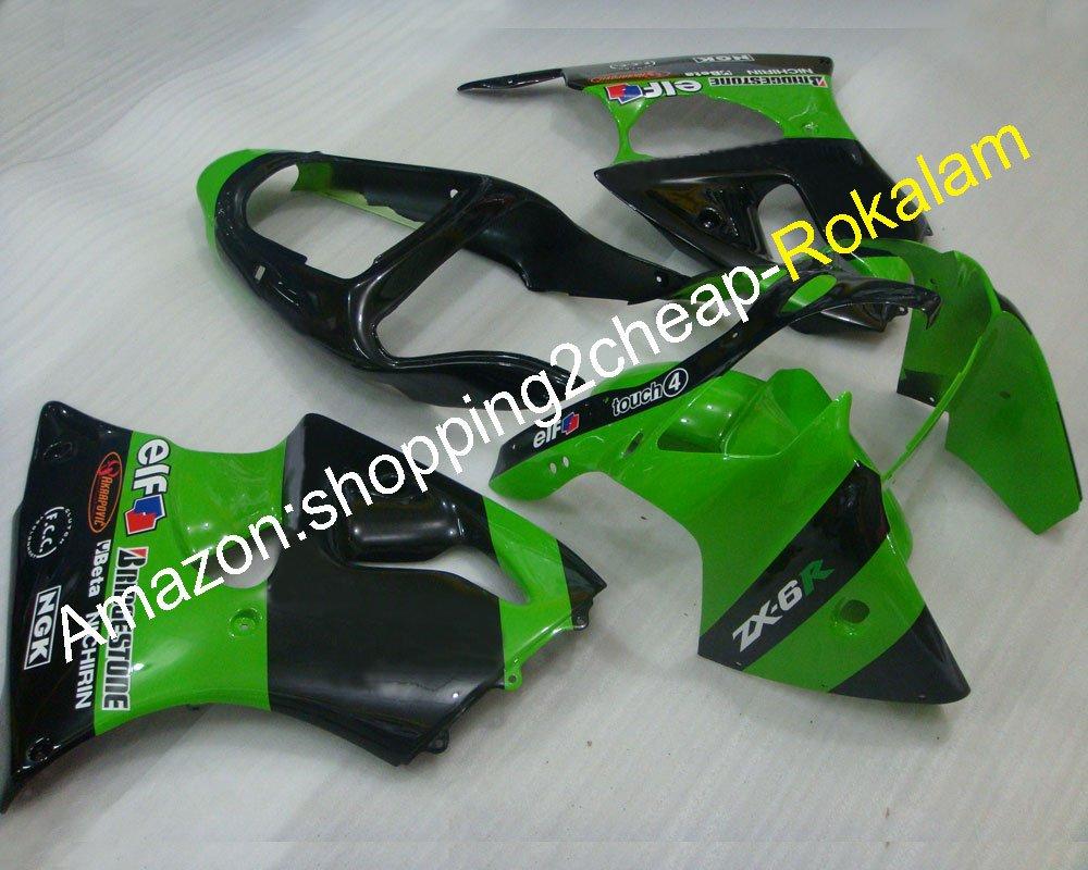 Hot Sales,ZX6R 00 01 02 Carenado para Kawasaki ZX-6R Ninja ...