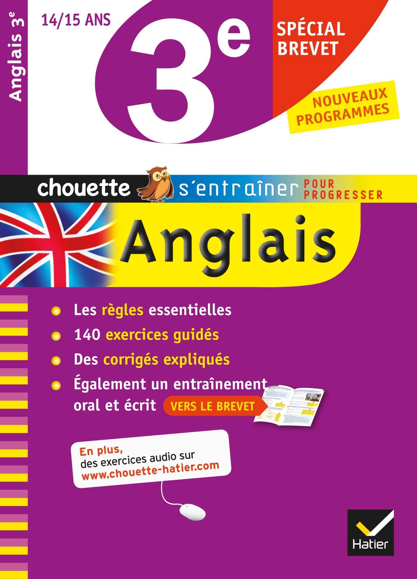 Anglais 3e Special Brevet Niveau A2 B1 Du Cecr Nemni Nataf Nicole Touati Corinne 9782218949463 Amazon Com Books