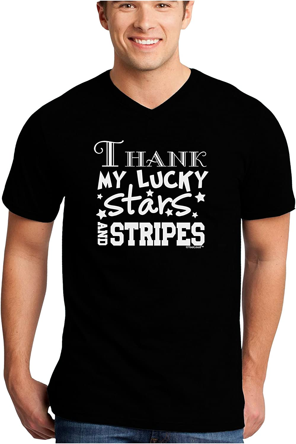 TooLoud Thank My Lucky Stars and Stripes Toddler T-Shirt