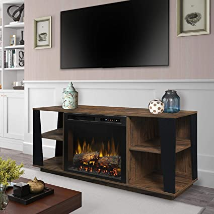 Amazon Com Dimplex Electric Fireplace Tv Stand Media Console And