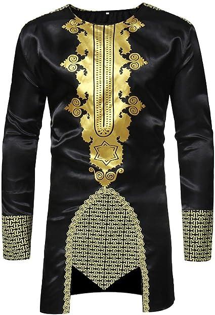 Mens Gold Foil The Best Never Rest Long Sleeve Black T-Shirt Tee Workout Fitness