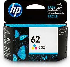 HP 62   Ink Cartridge   Tri-Color   C2P06AN