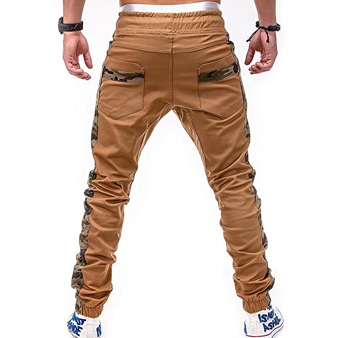 Moda Pantalón para Hombre, Pantalones Largos Deportivos Chándal Algodón Fitness Joggings, Pant con Bolsillo: Amazon.es: Ropa y accesorios