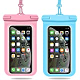Weuiean Waterproof Phone Case, Waterproof Phone Bag with Detachable Lanyard, Phone Dry Bag for iPhone 12/11/SE/XS/XR 8/7/6Plu