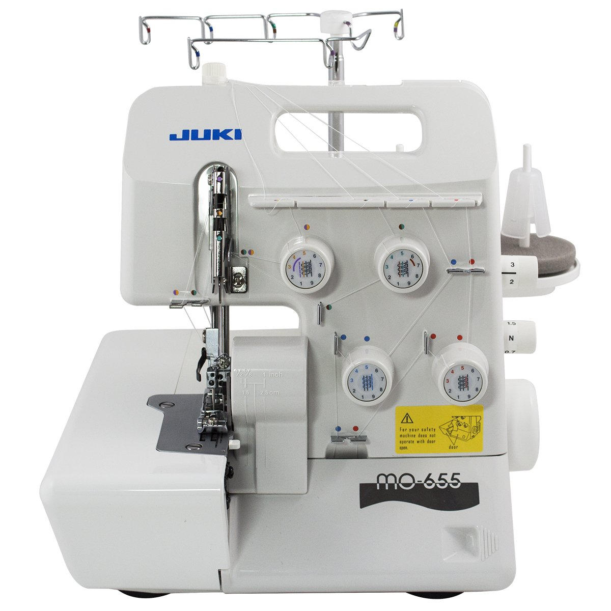 Juki Pearl Line MO-655 Serger – Product Features & Reviews 4