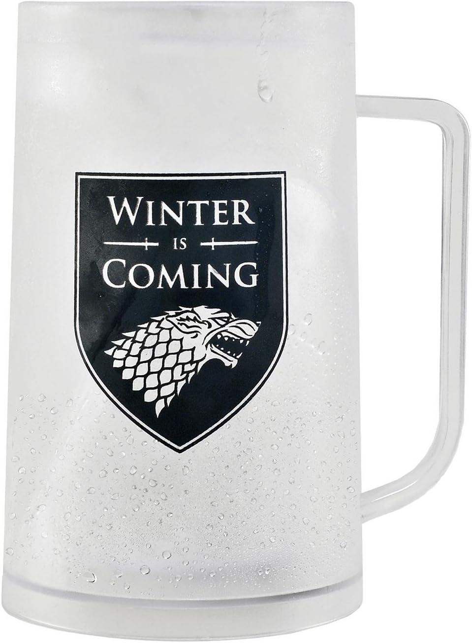 Game Of Thrones Jarra de Cerveza Freezable Tankard Winter is ...