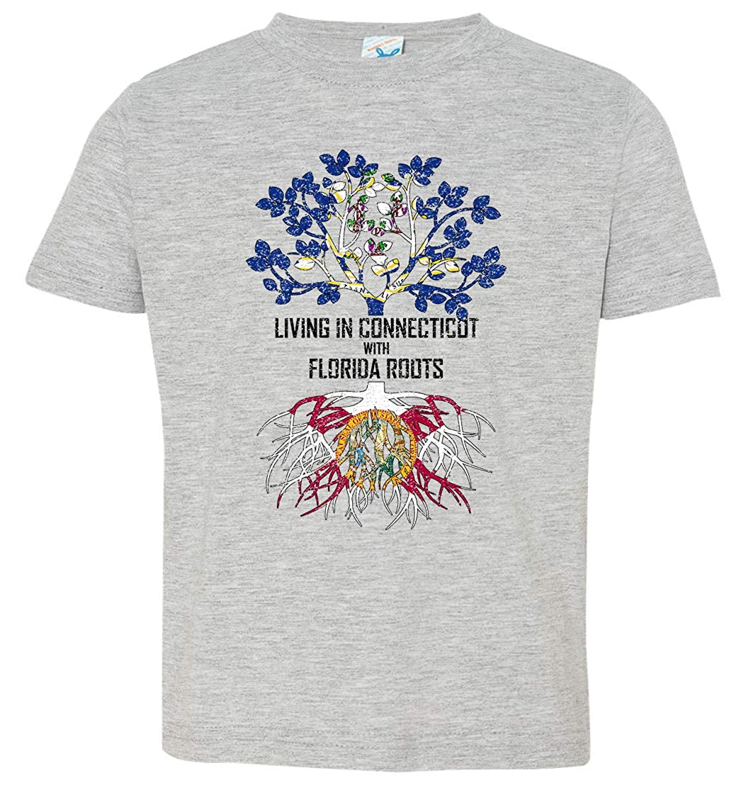 Tenacitee Babys Living in Connecticut Florida Roots Shirt