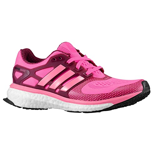 official photos a2b1d 50d40 Adidas Energy Boost 2 ESM Junior Gradeschool GS M18651 Solar  PinkBlackTribe Berry