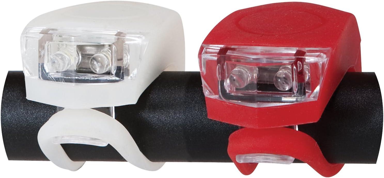 Diamondback Flex Combo Led Bicycle Light Set, Red White Black