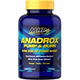 MHP Anadrox Pump & Burn, Nitric Oxide Fat Burning Inferno, 112 capsules