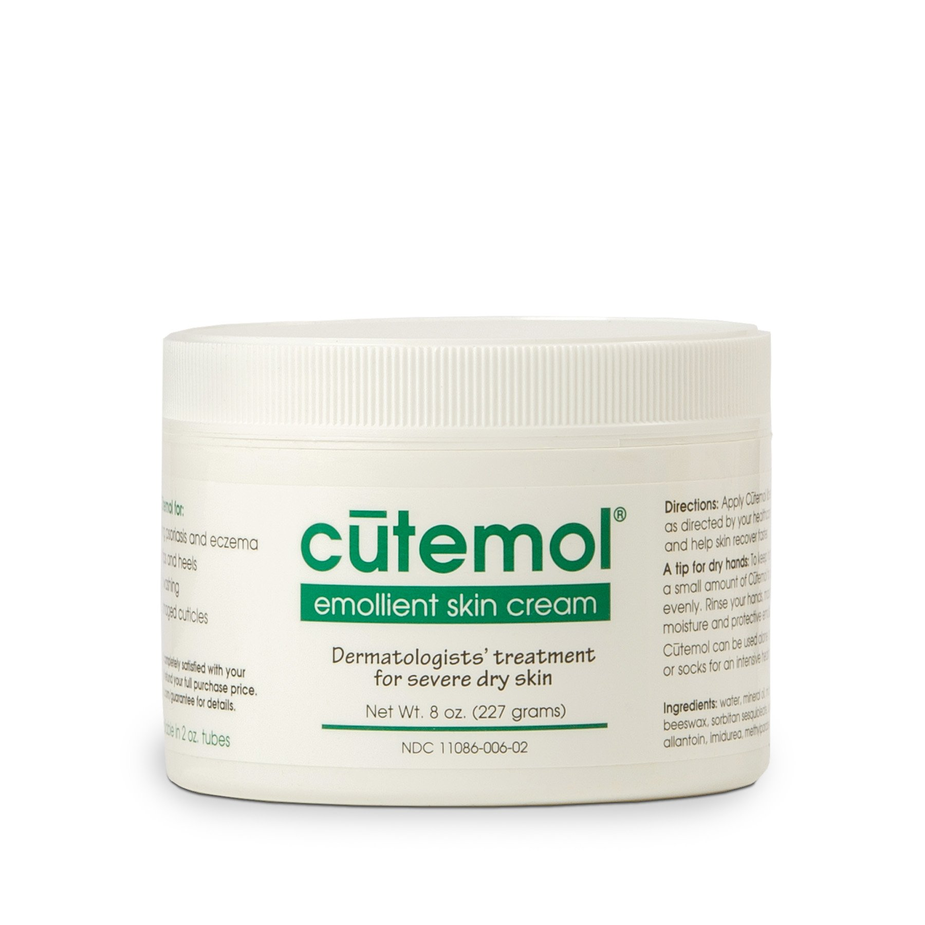 Cutemol Emollient Cream, 8-Ounce