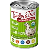 Tender And True Pet Food, Dog Food Chicken Liver Organic, 12.5 Ounce (Pack of 12)