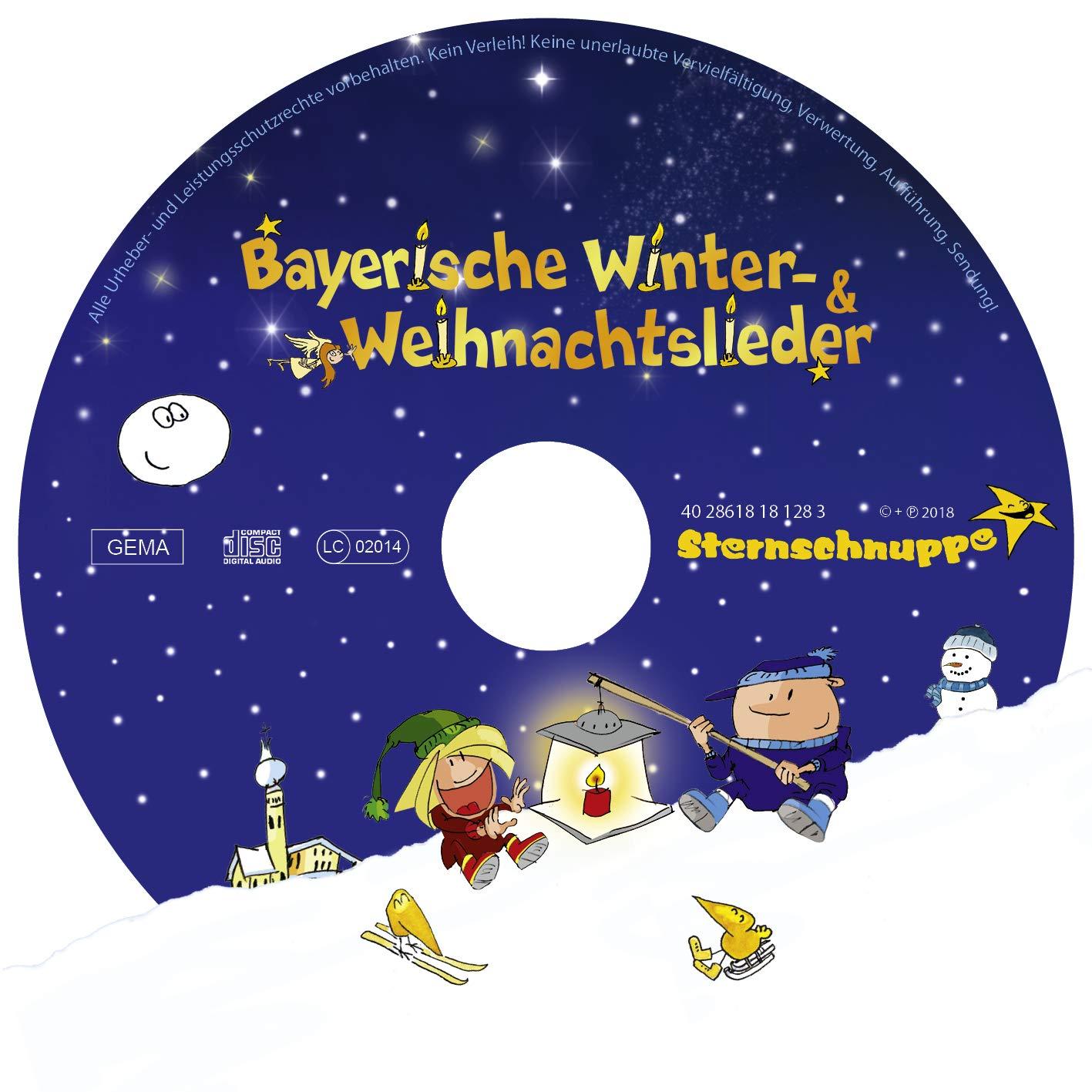 Bayerische Winter- und Weihnachtslieder - Sternschnuppe: Amazon.de ...