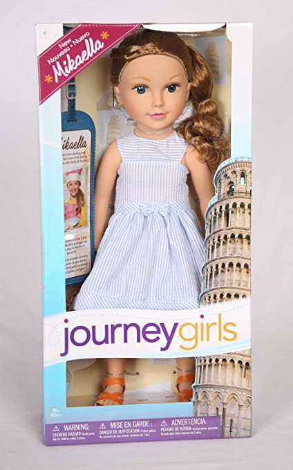 "Journey Girls 18/"" Doll Mikaella"