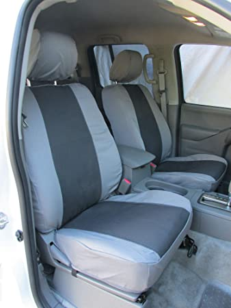 Awe Inspiring Durafit Seat Covers N487 X7 X8 2005 2019 Nissan Frontier Crew Cab Exact Seat Cover Set Front Buckets 60 40 Rear With Armrest Gray With Graphite Gmtry Best Dining Table And Chair Ideas Images Gmtryco