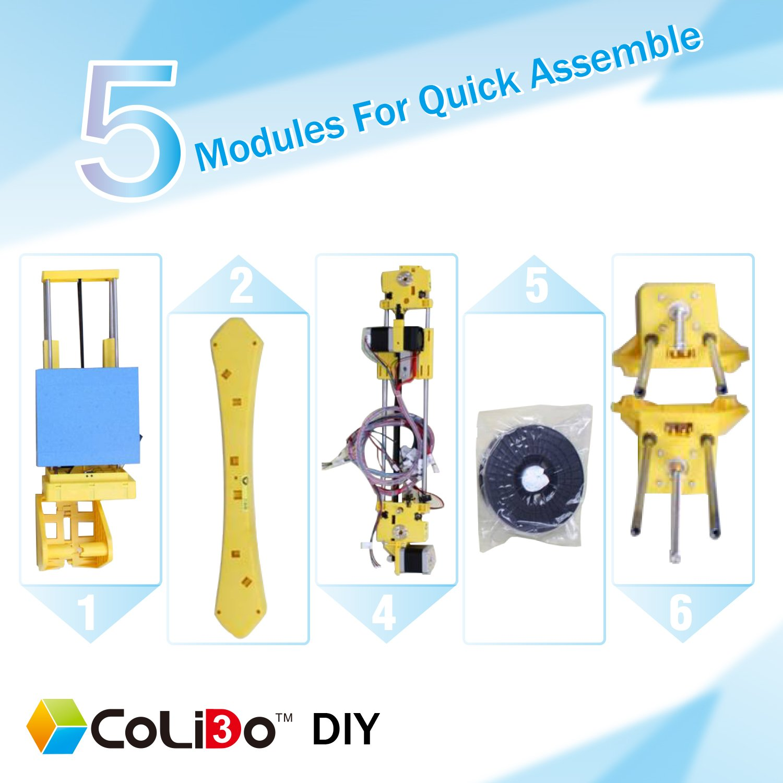 Colido COLD3D-LMD028X - Impresora 3D DIY (20 x 20 x 17 cm ...