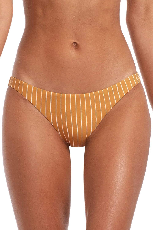 Vitamin A Women's Black EcoRib Luciana Bikini Bottom