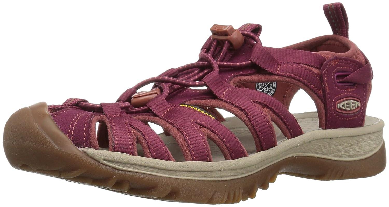 KEEN Women's Whisper-w Sandal B01MRLREFT 6.5 B(M) US|Rhododendron/Marsala