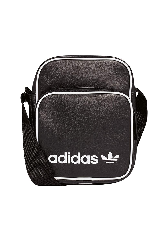 Adidas Mini Bag Vint Zaino Casual, 45 cm, 15 liters, Nero (Negro) DH1006