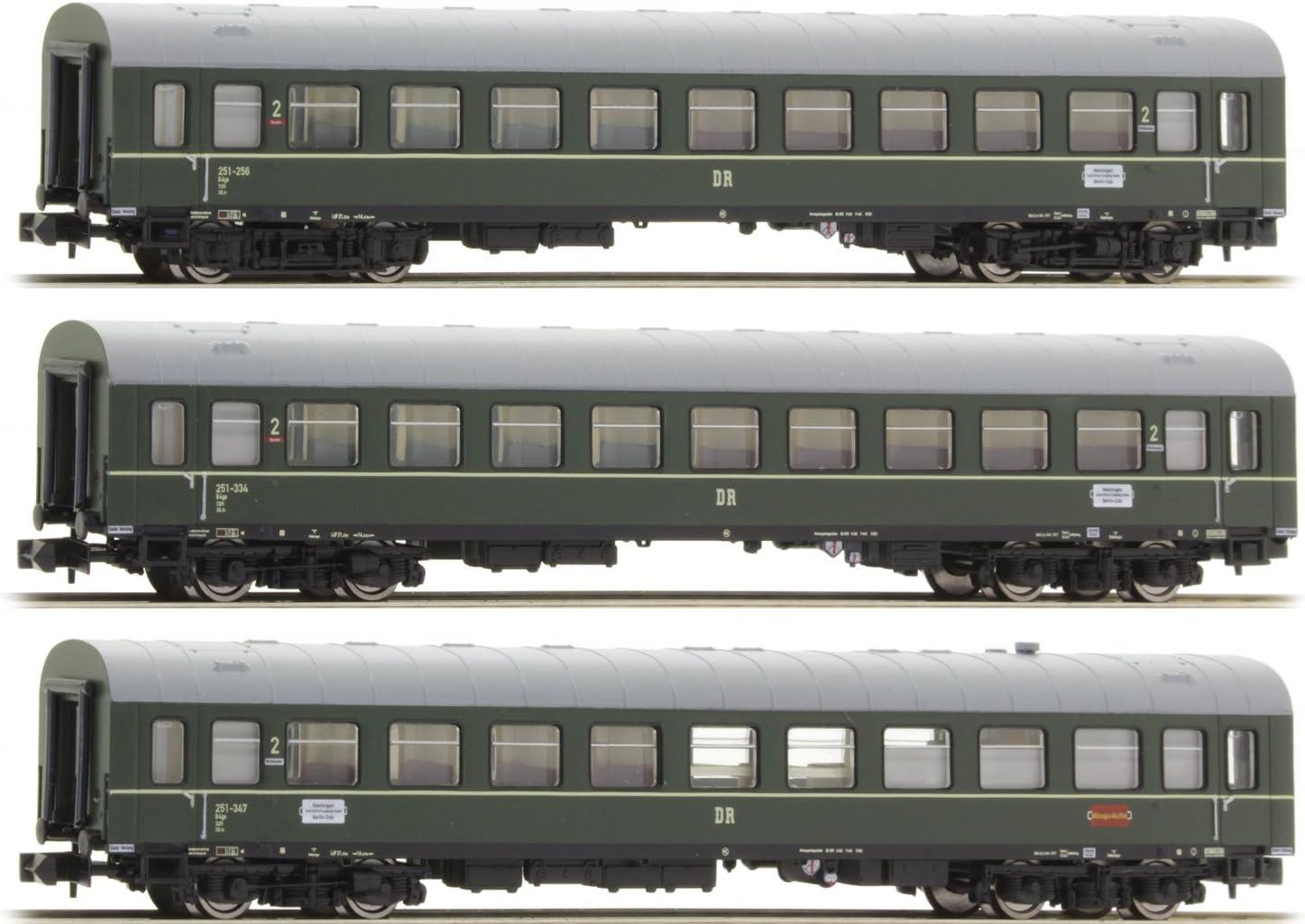ARNOLD HN4161 Modernisierungswagen der Deutschen Reichsbahn Epoche IV 3-teiliges Set