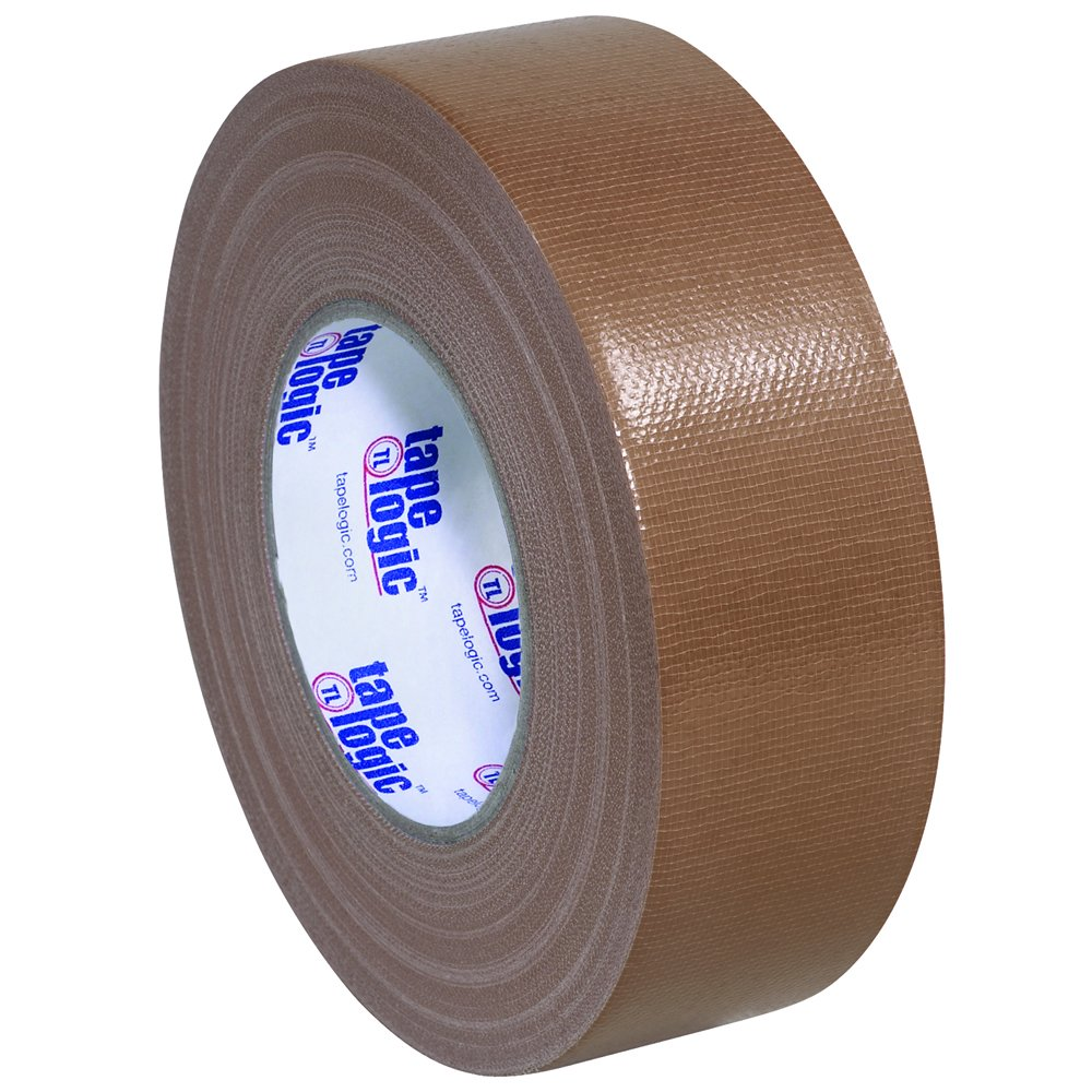 Tape Logic T987100BR 10.0 Mil Duct Tape, 2'' x 60 yd, Brown (Pack of 24)