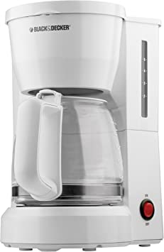 BLACK DECKER 5 Cup Coffeemaker With Glass Car