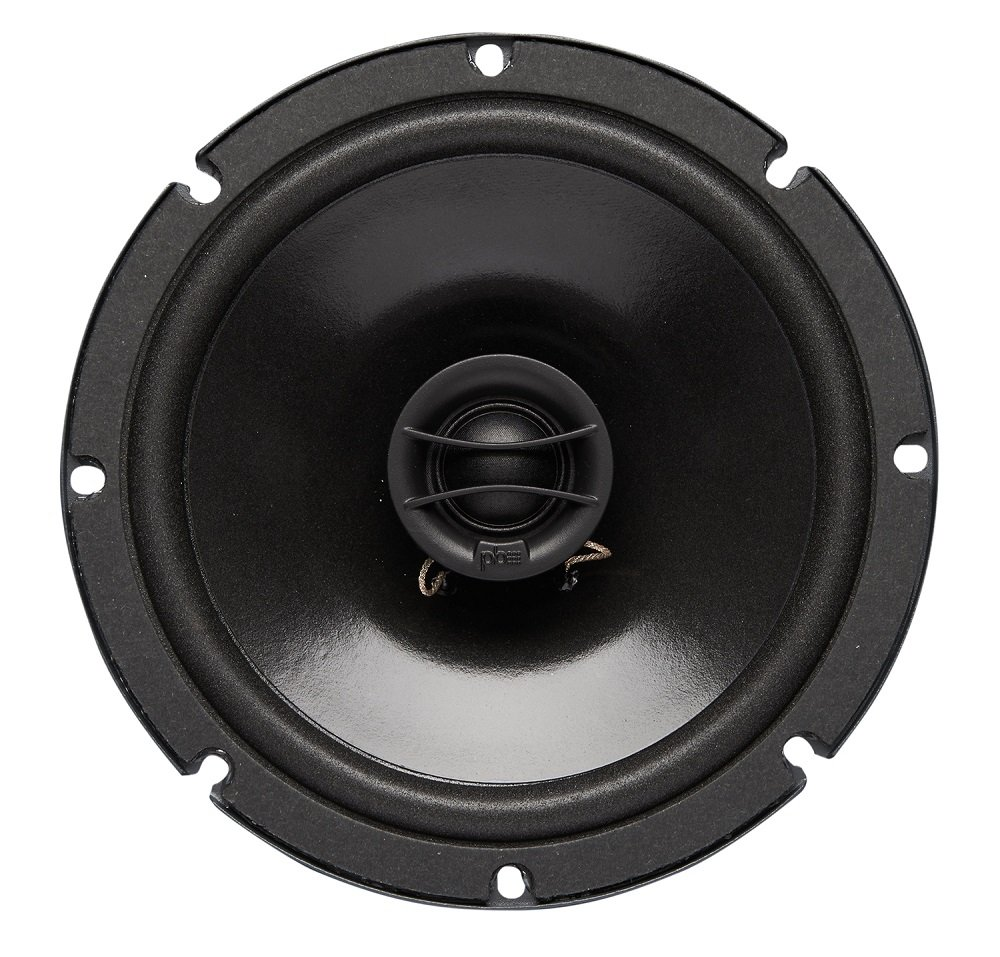 Powerbass S-6502 6.5'' Coaxial OEM Speakers, Set of 2 (S6502)