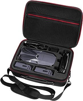 Ropch Bolsa de accesorios electrónicos - Estuche organizador de cables de doble capa universal para cable USB, discos duros, iPad Air, iPhone, auriculares [Bolso Dji Mavic Pro]: Amazon.es: Juguetes y juegos