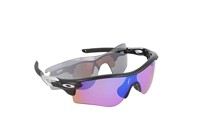 930daae83d Oakley Men s Radarlock Path OO9181-53 Polarized Iridium Shield Sunglasses