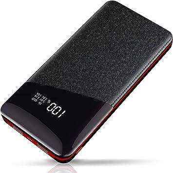 Yutre Power Bank, 24000mAh Batería Externa, Cargador Portátil de ...