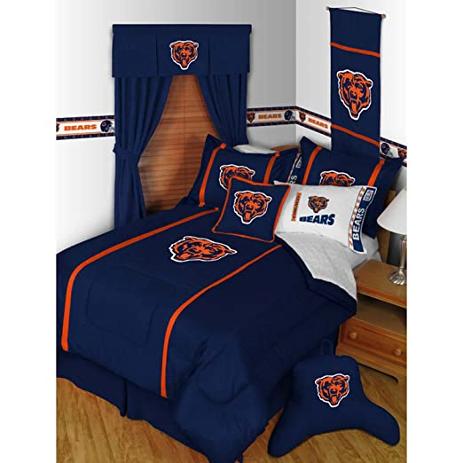 Lovely Amazon.com : NFL Chicago Bears MVP Comforter Twin : Sports Fan Bed  Comforters : Sports U0026 Outdoors