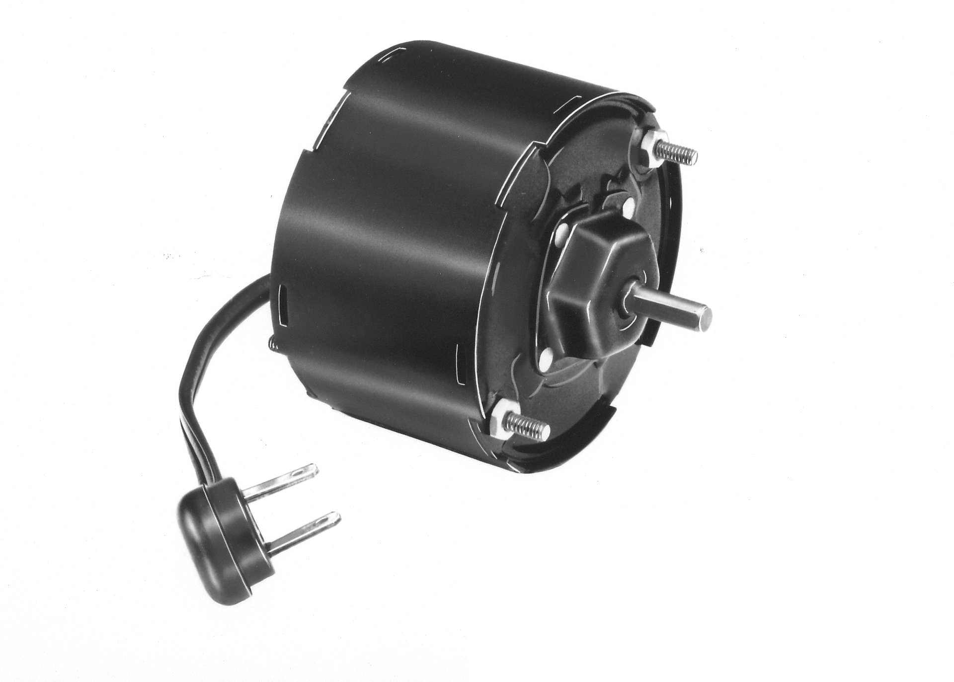 Fasco D1109 3.3'' Frame Totally Enclosed Shaded Pole General Purpose Motor withSleeve Bearing, 1/100HP, 1500rpm, 115V, 60Hz, 0.65 amps