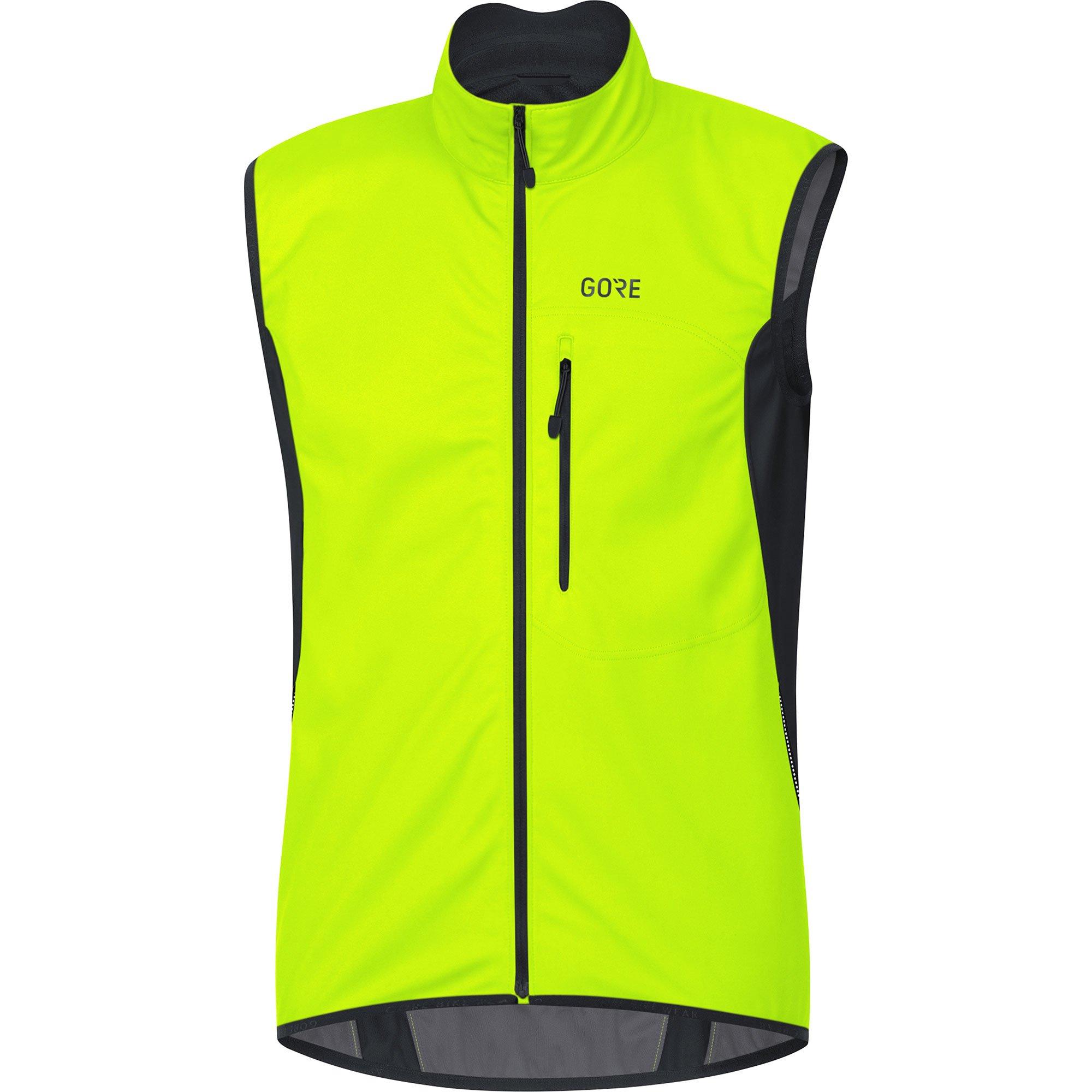 Gore Men's C3 Gws Vest,  neon yellow/black,  L by GORE WEAR