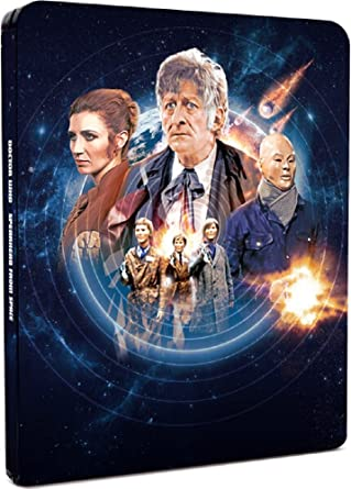 Doctor Who - Spearhead from Space - Limited Edition Steelbook Blu-ray: Amazon.es: Cine y Series TV