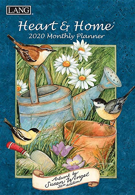 Amazon.com: Heart & Home 2020 Monthly Planner: Home & Kitchen