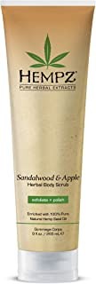 product image for Hempz Sandalwood and Apple Herbal Body Scrub, 9 Ounce