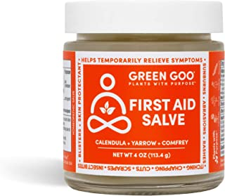 product image for Green Goo Natural Skin Care Salve, First Aid Skin Repair Cream, 4-Ounce Jar