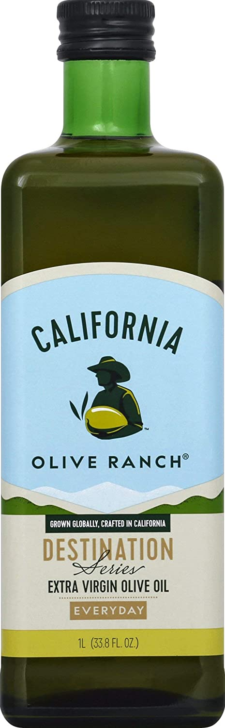 California Olive Ranch Everyday Extra Virgin Olive Oil, 33.8 Ounce