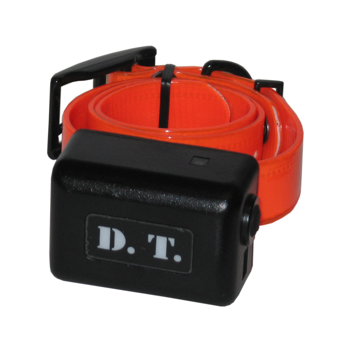DT Systems Add-On or Replacement Dog Training Collar Receiver, Blaze orange