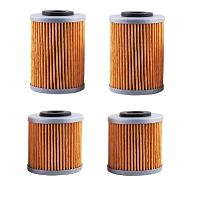 HF155 Oil Filter for KTM 450-XC 525-XC 250-EXC 400EXC 450 SX/EXC 520 SX/MXC (Set of 2) by Swess: Automotive [5Bkhe1504038]