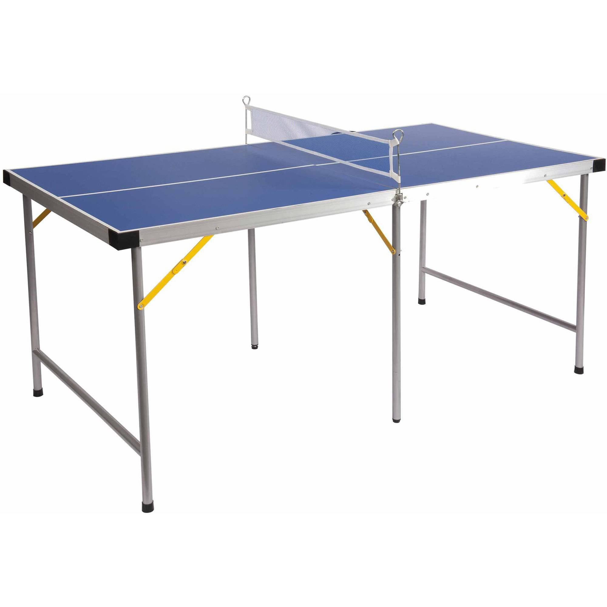 Lion Sports Folding Portable Table Tennis Ping Pong Table, 5'