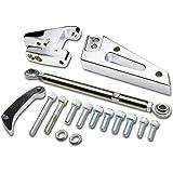 Chevy Small Block SBC V8 Short Water Pump Alternator Bracket+Adjuster Tensioner Rod