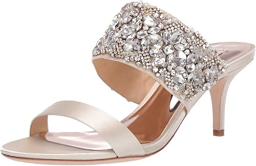Badgley Mischka Womens Linda Heeled Sandal