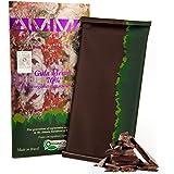AMMA Organic Dark Chocolate - 70% Pure Cacao With Coconut Sugar - Tree To Bar - Single Origin - Brazil - Kosher - Halal - 80g