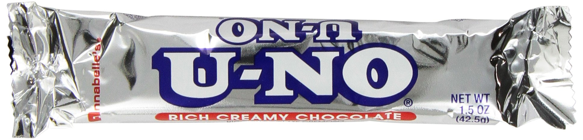 U-No Bars, 1.5-Ounce Bars (Pack of 24) by UNO