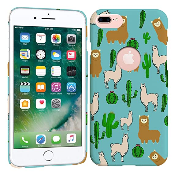 buy popular d6fc1 1b8ed Amazon.com: Glisten Designer Hard Plastic Case for iPhone 7 Plus ...