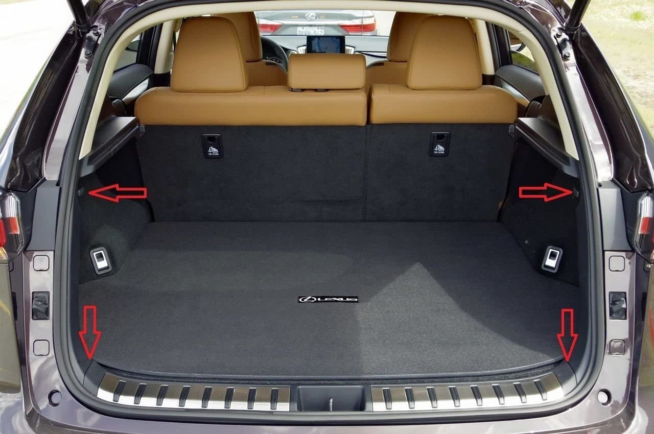 Envelope Style Trunk Cargo Net for Lexus NX200t 2015 2016 2017 2018 2019 NX300h 2015 2016 2017 2018 2019 NX300 2015 2016 2017 2018 2019 NEW