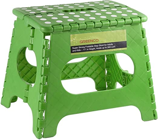 Extra Thick Folding Stool Small Stool for Children Household Portable Chair Non-Slip Plastic Low Stool